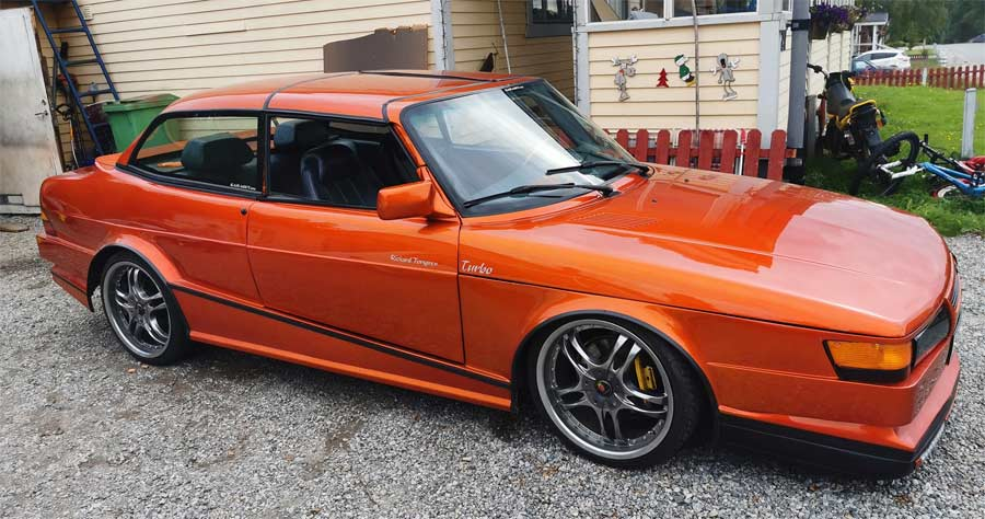 Super Modified Saab 99 with hardtop