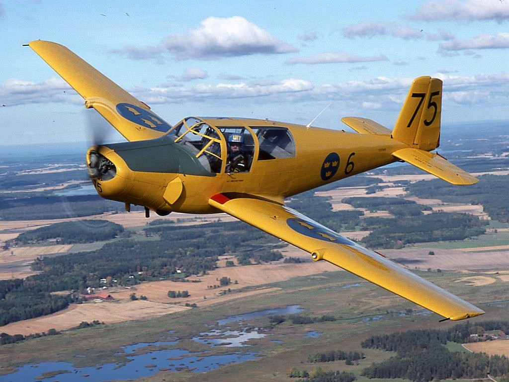 Lufthansa lost its historic Saab 91B Safir training aircraft