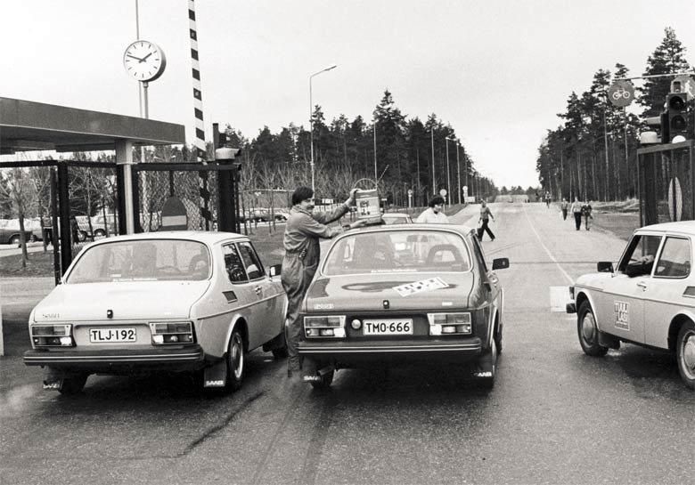 Saabs in Finland