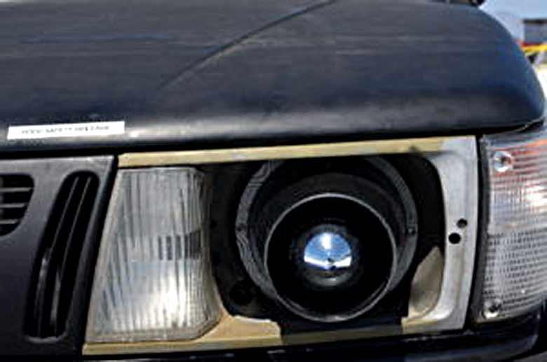 Saab 900 Detail