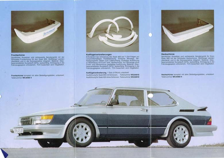 Schussler Saab parts