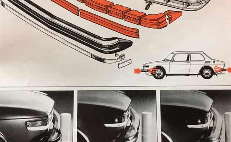 SAAB Self-repairing bumper