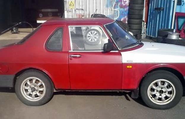 Shorty Saab 900