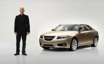 Simon Padian in 2010 Saab 9 5 NG promo intro