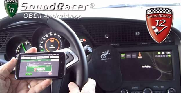 SoundRacer OBD Android Free Application