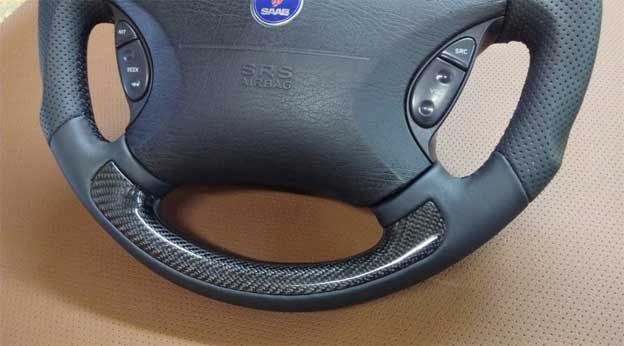 Steering wheel for Saab cars