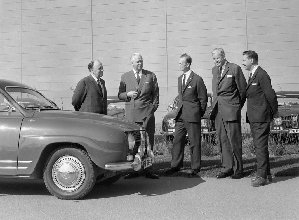 Svante Holm,Tryggve Holm, Gunnar Ljungstrom, Sixten Sason, Rolf Mellde, 1965