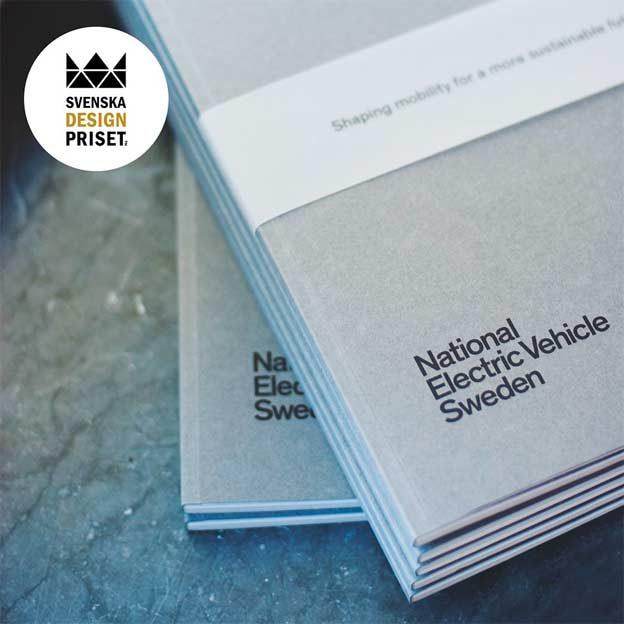 Svenska design priset - NEVS Annual Report