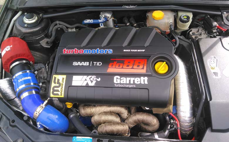 Tuned Saab TiD Engine