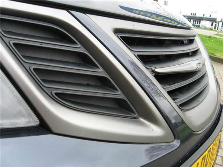 TX trim exterior Saab 9-3