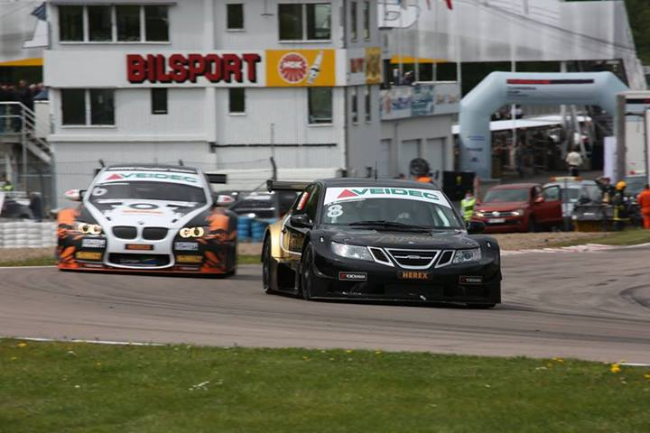 SAAB 9-3 and Göransson second in first Gothenburg STCC test