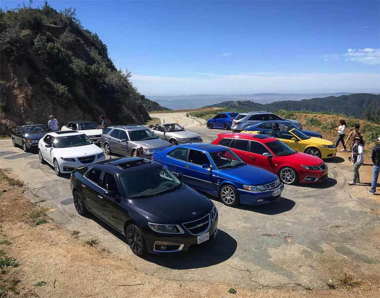 SAAB Club of California: Mount Baldy Drive 2018