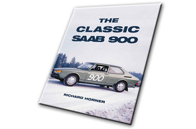 """The Classic Saab 900"" Book Cover"