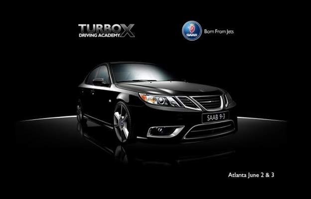 The Saab Turbo X Driving Academy