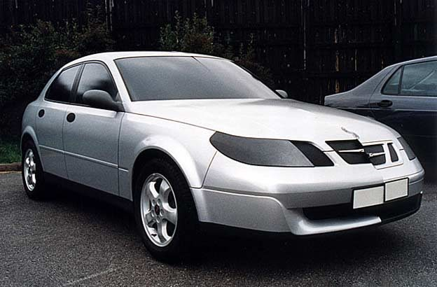 Theme Q 'Radical' proposal 1998 for Saab 9-3
