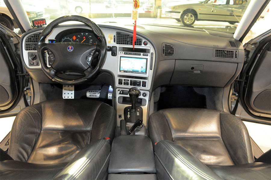 Saab TrollR interior