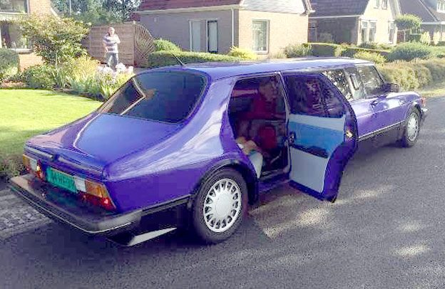Unique Saab 99 Limo
