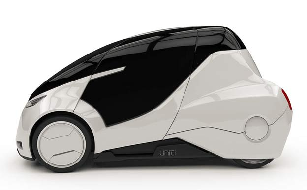 Unity - open source electric city car