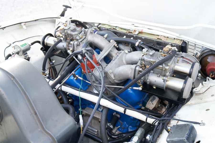 Saab V4 tuned engine