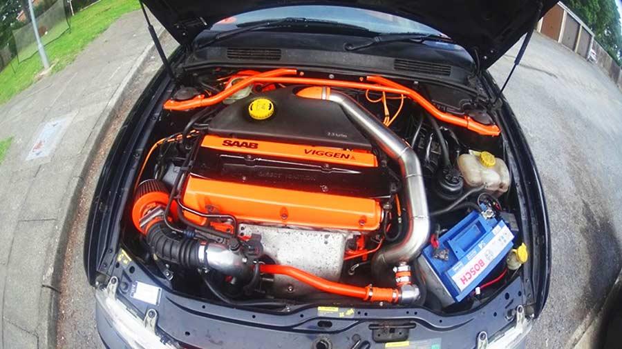 Saab Viggen engine