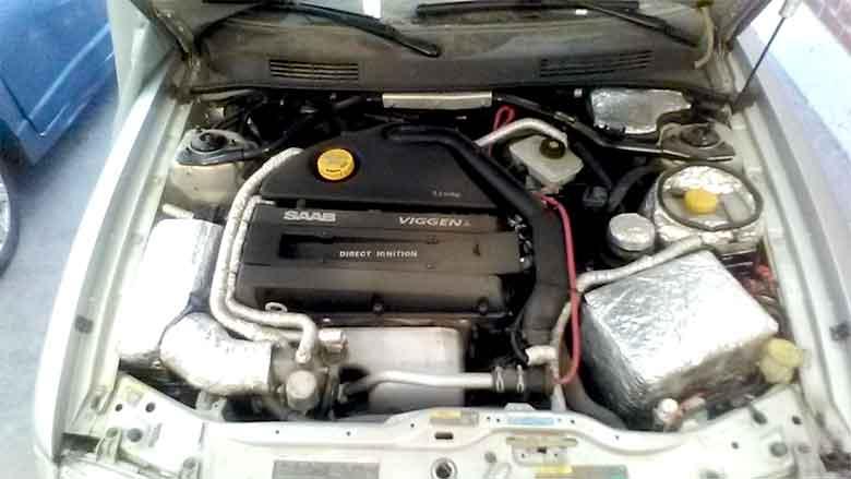 Saab 9-3 Viggen insulations