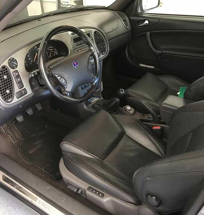 Saab Viggen interior