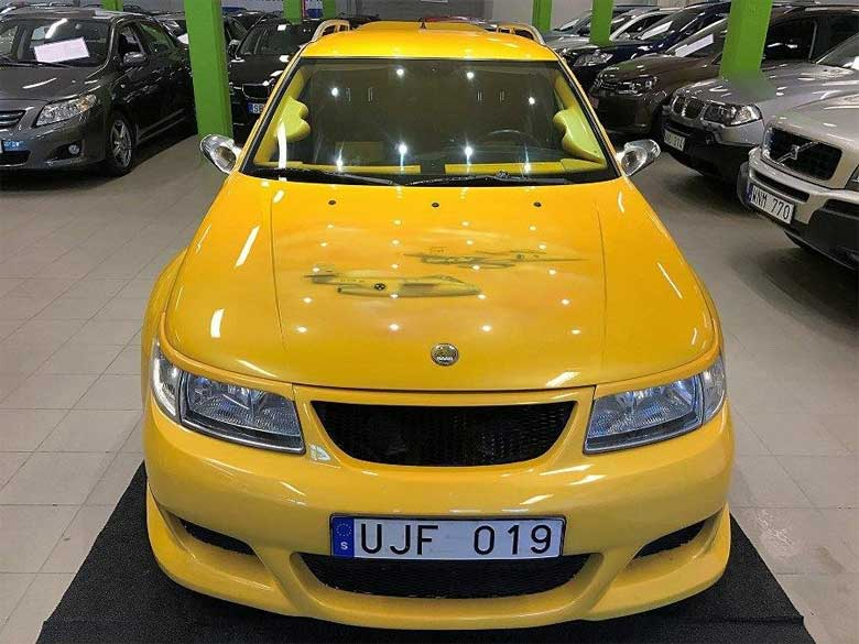 Widebody Saab