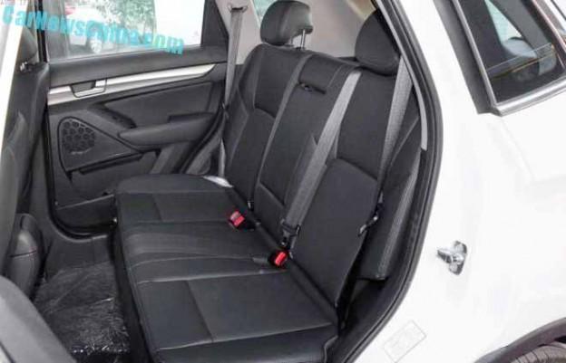 X65 Back Seats