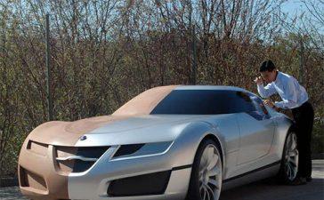 Saab Aero-X and the designer Anthony Lo