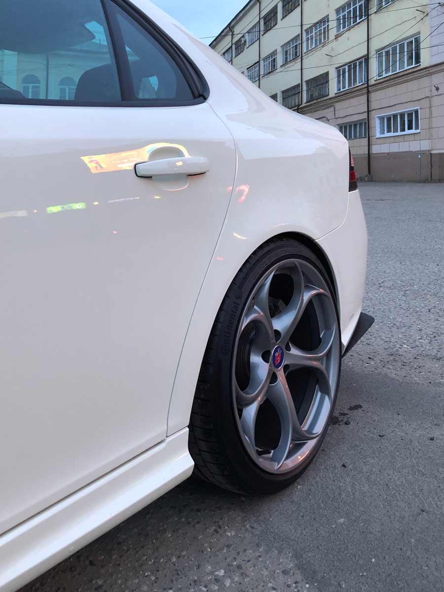 """Alfa Romeo Giulia QV 19"""" Rims and KR-Stido Rear-end diffusers"""