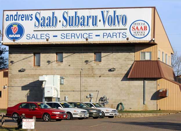 Andrews Saab dealership