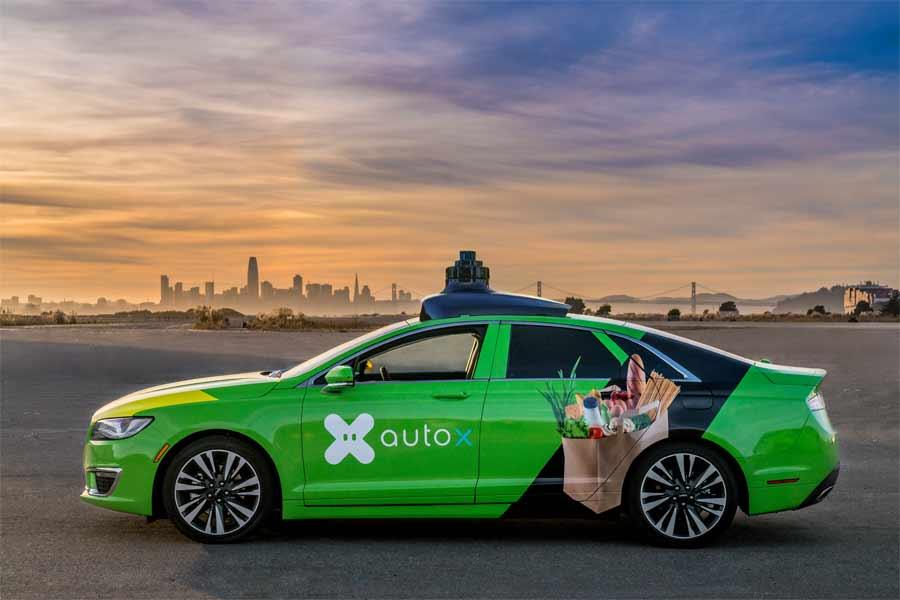 AutoX robo-taxi
