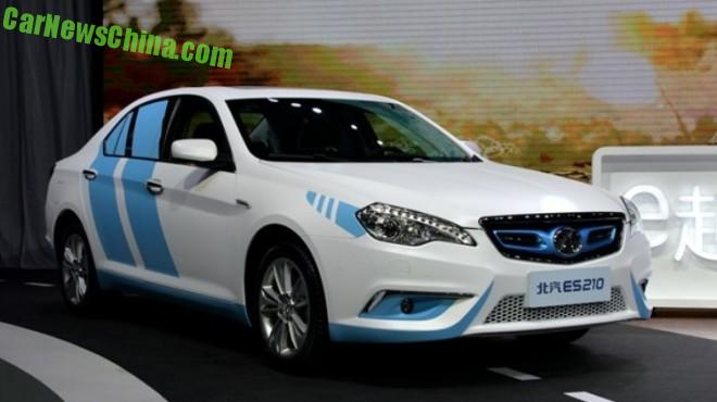 Electric Senova ES210 EV based on the first generation Saab 9-5