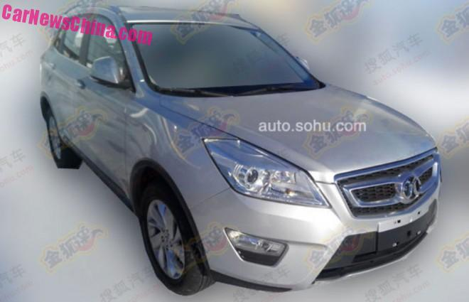 Senova X65 - Chinese SUV based on platform of the Saab 9-3 8