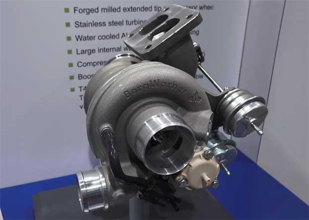 BorgWarner Twin scroll turbocharger