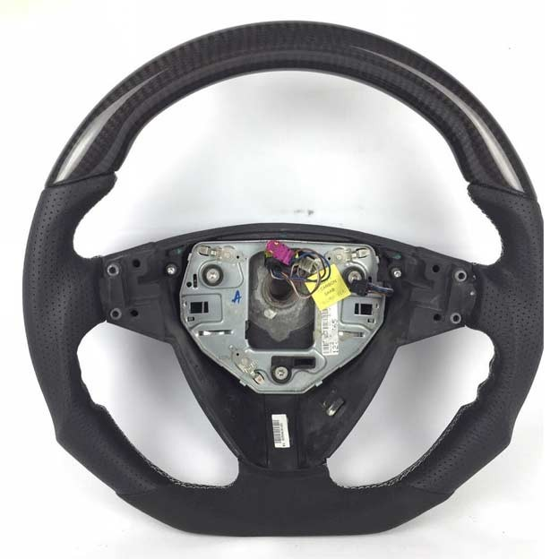 Saab Carbon-leather steering wheel saab
