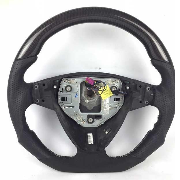 Saab Carbon-leather steering wheel saab