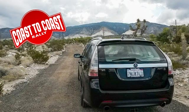 Coast-to-coast Rally in Saab