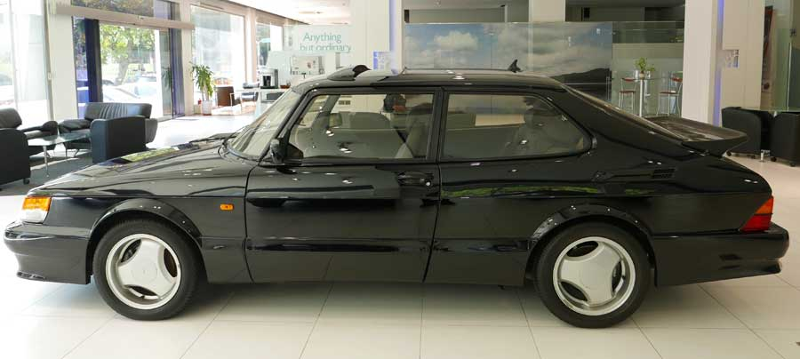 Collector's Car - 1993 Saab 900S Turbo Black