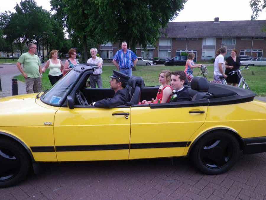 Saab Convertible 4-door