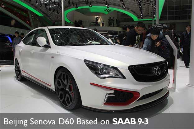 The Beijing Auto Senova Brand Is Working On 5 New Cars For Chinese Car Market All Will Have Been Launched By 2016 And 3 Be Based