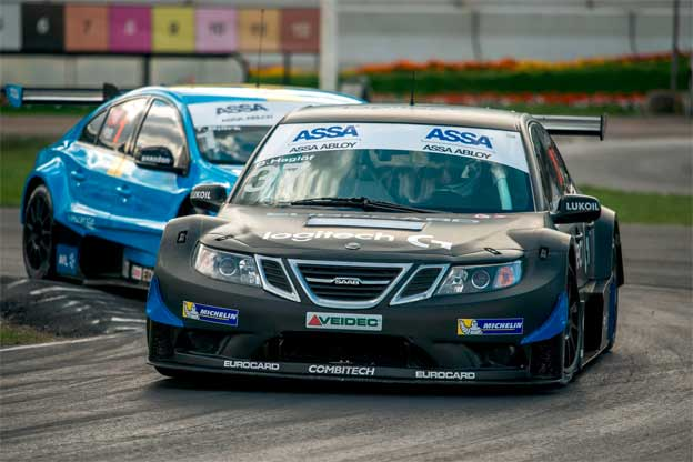 Double Triumph for Saab in STCC Championship!