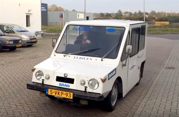 Saab Electric Van