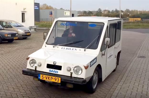 Saab Electric Van