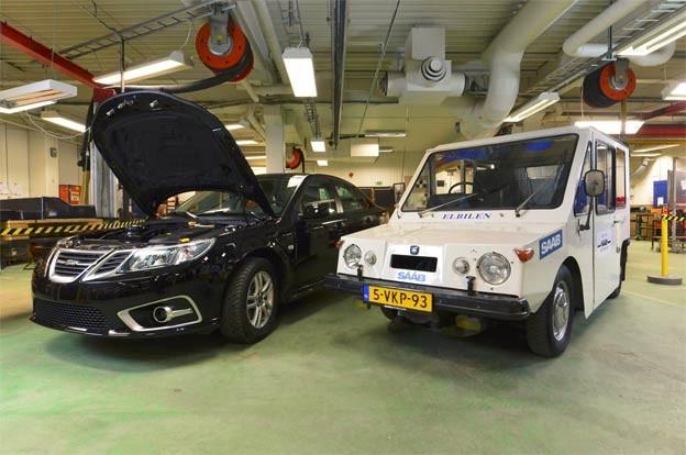 Saab NEVS 9-3 EV and T3 electric van