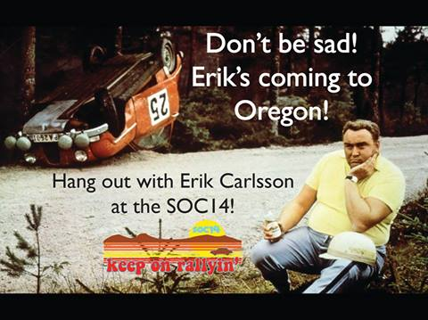 Erik Carlsson is coming to the SOC14