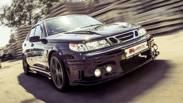 Incredible Saab 9-5 Aero by Krigare studio