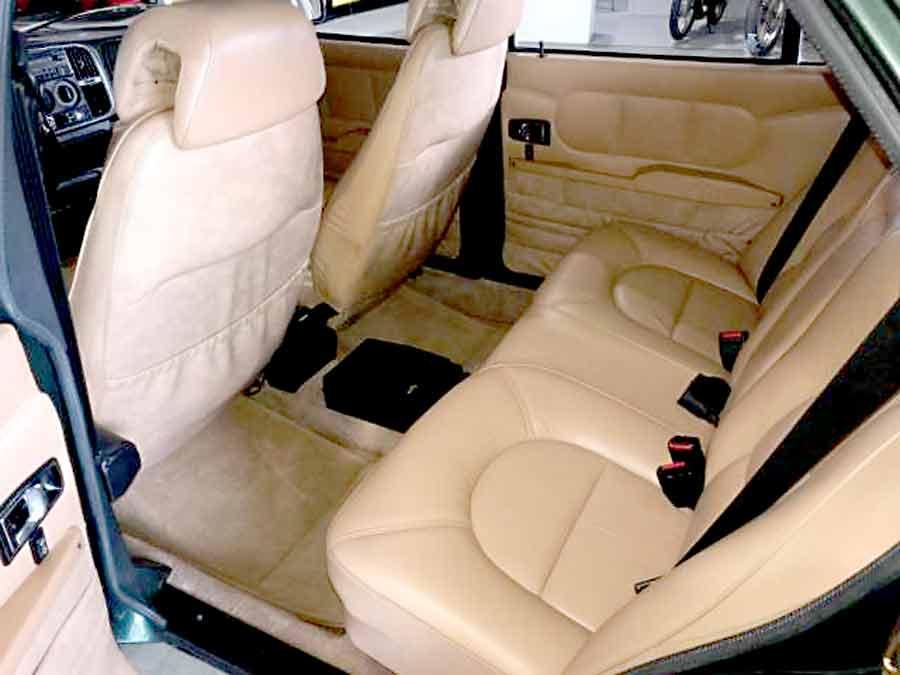 Saab 900 Finlandia rear seats space