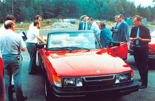 "Saab 900 Cabrio prototype called ""Nashville"""