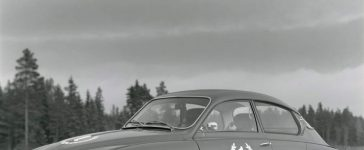 The first Finnish Saab 96